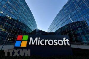 Điện toán đám mây và Xbox đẩy doanh thu của Microsoft vượt kỳ vọng