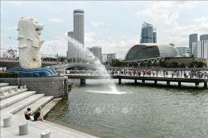 Khu tài chính của Singapore có thể bị chìm trong biển nước