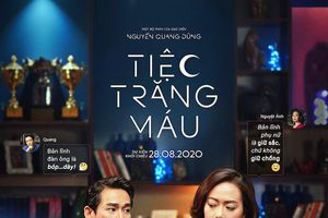 'Tiệc Trăng Máu' của đạo diễn Nguyễn Quang Dũng tung poster dàn diễn viên toàn sao