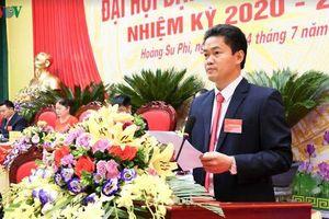 Ông Vũ Mạnh Hà tái đắc cử Bí thư Huyện ủy Hoàng Su Phì