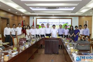 Thứ trưởng Ngoại giao Đặng Minh Khôi làm việc với Lãnh đạo Đài Tiếng nói Việt Nam