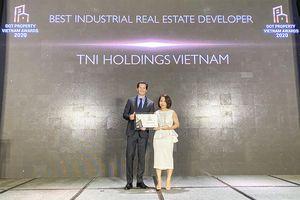 TNI Holdings Vietnam được vinh danh là Nhà Phát triển bất động sản công nghiệp tốt nhất Việt Nam năm 2020