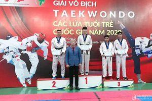 Hai nữ võ sỹ Taekwondo Nghệ An giành Huy chương Vàng tại Giải Vô địch trẻ toàn quốc 2020