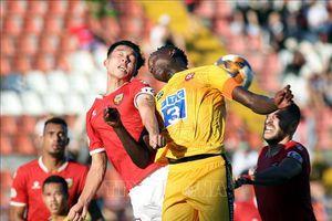 Hồng Lĩnh Hà Tĩnh giành 1 điểm nhờ bàn thắng muộn tại sân Lạch Tray