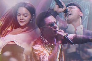Sau tuyên bố ngưng ca hát, Tuấn Hưng vẫn trình diễn hết mình trong đêm nhạc có Ưng Hoàng Phúc, Phạm Quỳnh Anh