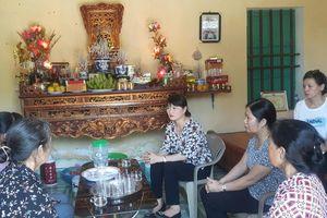 Hội LHPN tỉnh Nam Định tổ chức hoạt động đền ơn đáp nghĩa