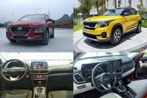 Chênh 41 triệu đồng, chọn mua Kia Seltos Premium 1.4L Turbo hay Hyundai Kona 1.6L Turbo?