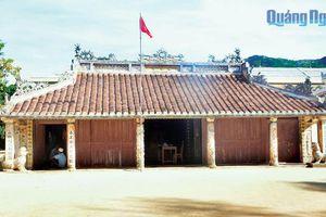 Di tích lịch sử, văn hóa ở Lý Sơn: Cần được sửa chữa, tôn tạo