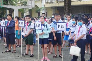 Hơn 3.800 thí sinh tham gia khảo sát năng lực vào lớp 6 Trường THPT chuyên Trần Đại Nghĩa
