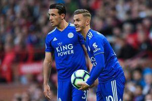 Leicester City sứt mẻ đội hình trước đại chiến với Manchester United
