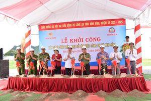 Khởi công xây dựng trụ sở Công an xã Yên Đồng