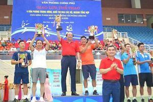 Giao lưu thể thao Ngày truyền thống VPCP thành công tốt đẹp