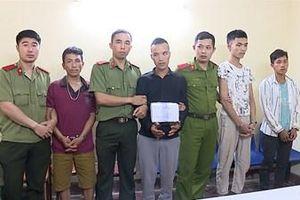 Bắt 5 thanh niên trong một đường dây ma túy lớn ở Sơn La