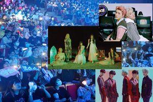 Hơn 800 fan Việt 'cháy' hết mình trong concert miễn phí cùng EXO-SC, Red Velvet và dàn sao đình đám Kpop