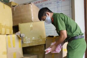 Phát hiện hơn 18.000 khẩu trang y tế không rõ nguồn gốc