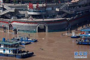Thượng nguồn sông Trường Giang đạt mực nước cao nhất từ đầu năm