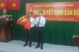 Đồng chí Trần Văn Khuyên giữ chức vụ Bí thư Huyện ủy Hóc Môn