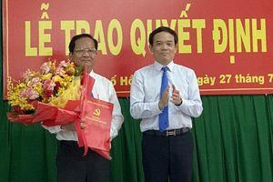 Lãnh đạo Công ty cấp nước Sài Gòn làm Bí thư huyện ủy Hóc Môn