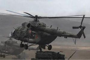 Soi trực thăng quân sự Mi-8 phiên bản 'xe tăng bay' dành cho đặc nhiệm Nga