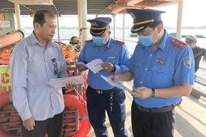 Xử phạt nhiều trường hợp vi phạm Luật Giao thông đường thủy nội địa