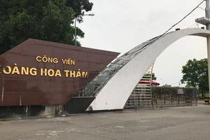 Bắc Giang: Nhiều sai phạm tại Dự án đầu tư Công viên Hoàng Hoa Thám