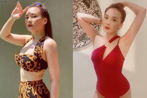 Bảo Thanh khoe vẻ gợi cảm với những kiểu bikini nào?