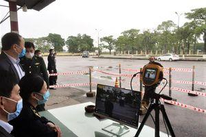 Quảng Ninh: Lắp đặt hệ thống đo thân nhiệt từ xa tại các khu, điểm du lịch