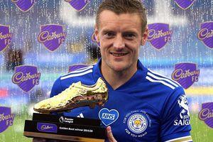 Vardy giành giải Vua phá lưới, lập kỷ lục tại Premier League