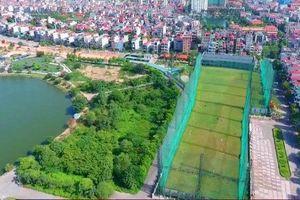 Tận thấy khu đất công biến thành sân tập golf ở Bắc Giang