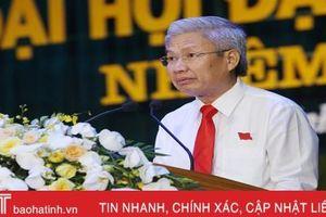Đồng chí Đặng Thanh Hải tái cử chức Bí thư Thị ủy Hồng Lĩnh