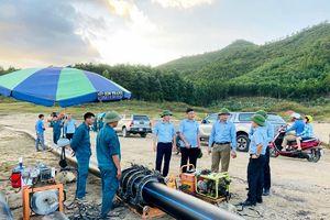 Khẩn trương giải quyết việc thiếu nước sinh hoạt khu vực Bãi Cháy