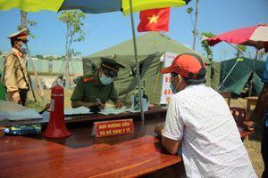 Quảng Nam lập 4 chốt kiểm soát dịch COVID-19