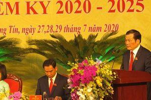 Ông Nguyễn Tiến Minh tái đắc cử Bí thư Huyện ủy Thường Tín