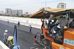 Ngày 10-10, đường trên cao Mai Dịch - Nam Thăng Long thông xe