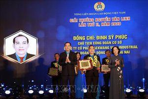 Trao giải thưởng Nguyễn Văn Linh lần 2