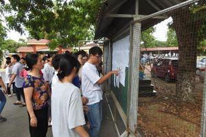 Vĩnh Phúc: Công bố điểm sàn tuyển sinh vào lớp 10 THPT