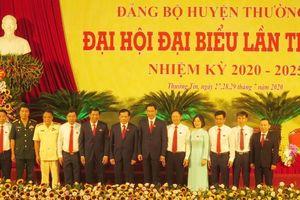 Ông Nguyễn Tiến Minh được bầu làm Bí thư huyện Thường Tín