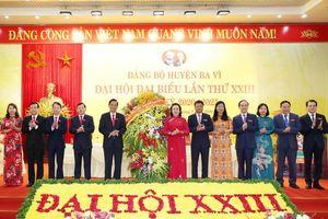 Ông Dương Cao Thanh được bầu làm Bí thư huyện Ba Vì
