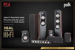 Phúc Giang - PGI phân phối độc quyền thương hiệu loa Polk Audio 'tuyệt tác HiFi chuẩn Mỹ'