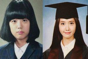 Ảnh tốt nghiệp của idol Kpop: Ji Soo 'phèn', Yoona đẳng cấp