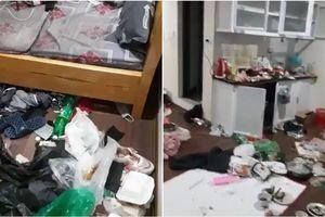 Dân tình ngán ngẩm trước trình ở bẩn của một gái xinh: Rác chất ngập nhà, muốn tìm chỗ đặt chân cũng khó