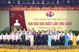 Đồng chí Nguyễn Tiến Minh tiếp tục được bầu làm Bí thư Huyện ủy Thường Tín
