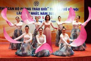 Sôi nổi Hội thi 'Cán bộ phong trào giỏi' thành phố Hà Nội lần thứ nhất năm 2020