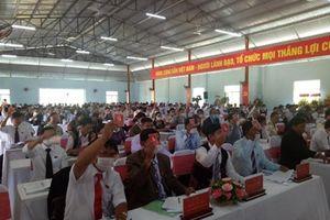 1 Phó bí thư rớt Ban chấp hành Đảng bộ huyện nhiệm kỳ mới