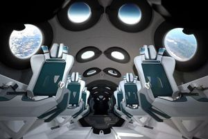 Hé lộ cabin trên tàu vũ trụ cho giới siêu giàu