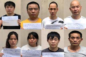 Phát hiện 8 người Trung Quốc nhập cảnh trái phép ở gần sân bay Tân Sơn Nhất
