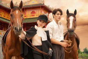 Kaity Nguyễn hóa quý cô sang chảnh cưỡi ngựa giữa kinh thành Huế cùng mỹ nam