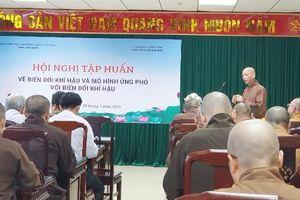 Thái Bình : Các tôn giáo tập huấn về biến đổi khí hậu