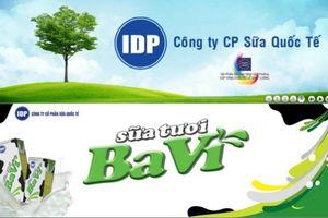Chứng khoán Bản Việt sẽ mua 15% vốn Sữa Quốc Tế (IDP)