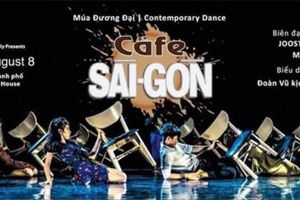 Múa đương đại Café Saigon trở lại sân khấu
